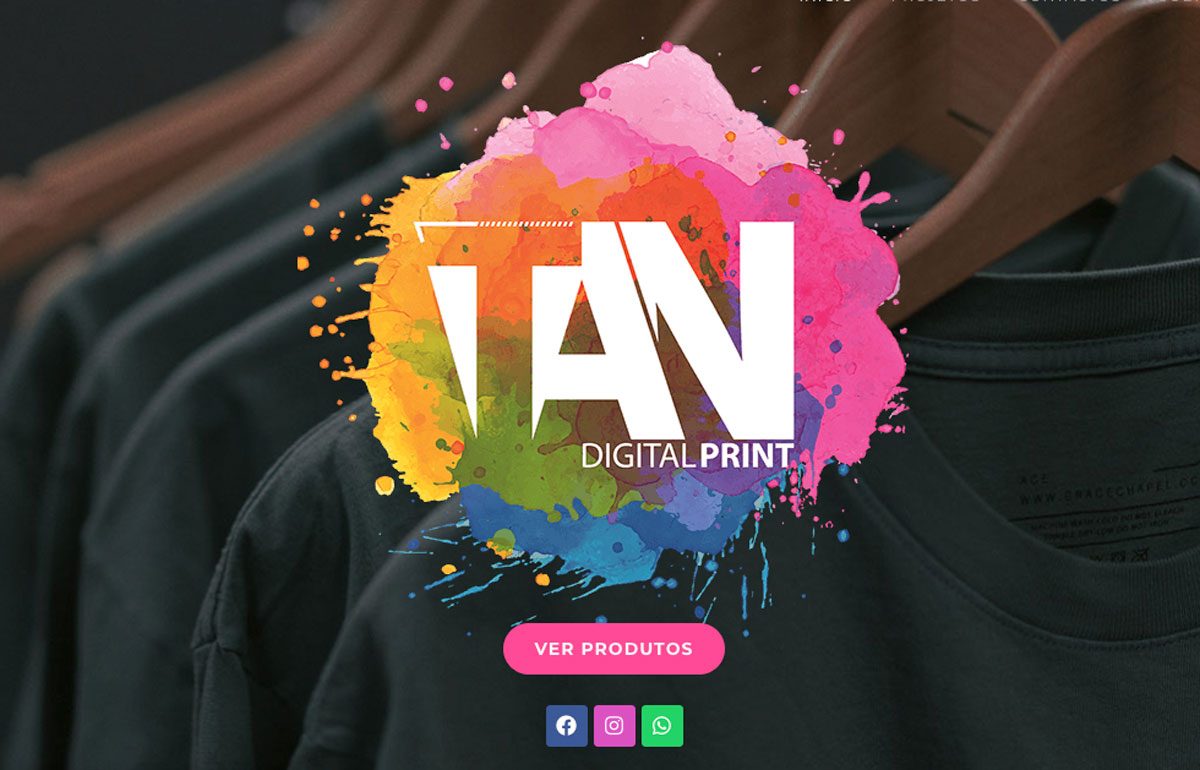 TAN DIGITAL PRINT, IMPRESSÃO DIGITAL TÊXTIL BEHS criação de websites, SEO, Webdesign, redes sociais, Guimarães, website instuticional