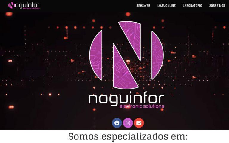 Noguinfor Informática, loja online criada pela BEHS