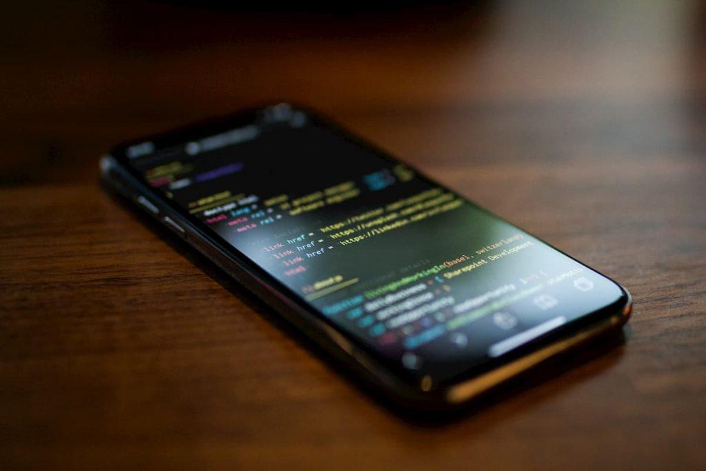 Site para ser visto no smartphone, responsivo