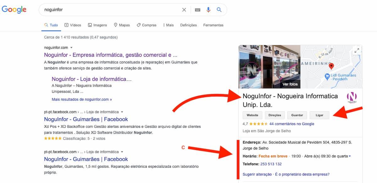 Vantagens do Google My Business na criação de sites e lojas online