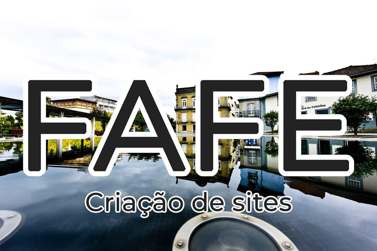Criação de sites em Fafe