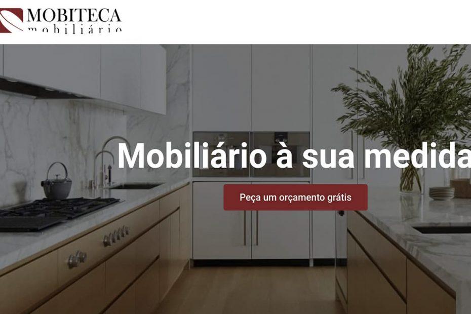 Mobiteca Mobiliário, Website Institucional criado pela BEHS