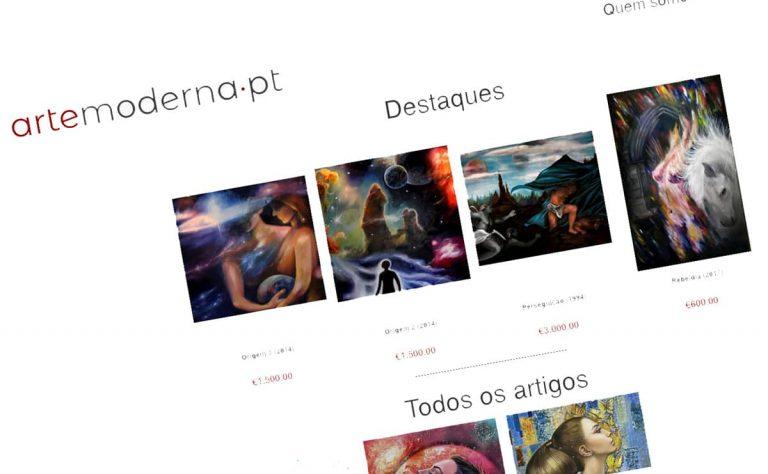 Arte Moderna, Loja Online serviço BEHS