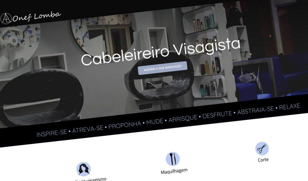 OnefLomba - Cabeleireiro Visagista - BEHS, website corporativo