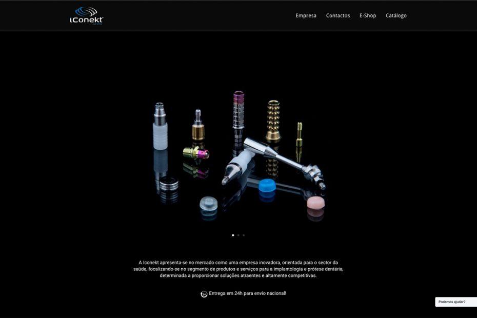 Iconekt - Produtos e serviços para implantologia e prótese dentária